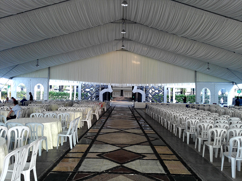 tent manufacturing and supplying sector