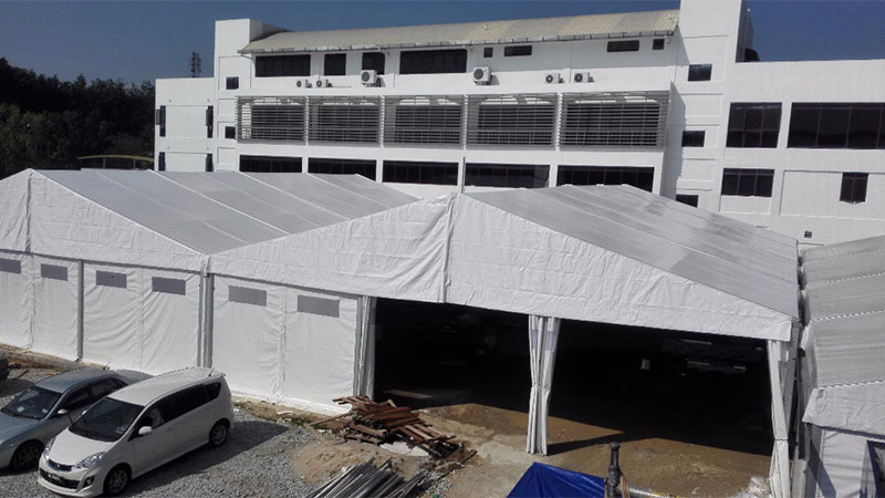 MARQUEE TENT 15 METER AT NILAI