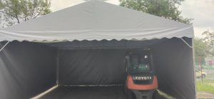 A-Shape Canopy with Sidewall - Size : 20' x 20'