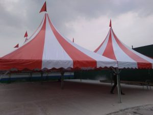 Stripe Arabian Canopy