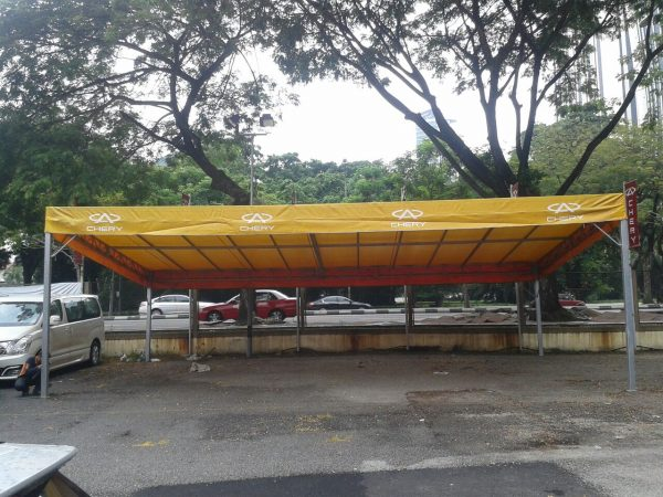 One Side Canopy with Logo