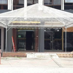 Pyramid Transparent Canopy