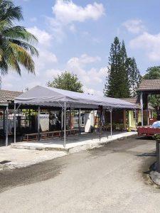 A-Shape Canopy 11' x  32'