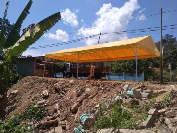 A-Shape Canopy 15' x 30'