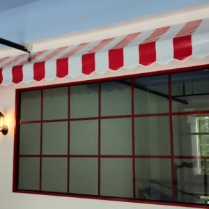 Canvas Stripe Awning