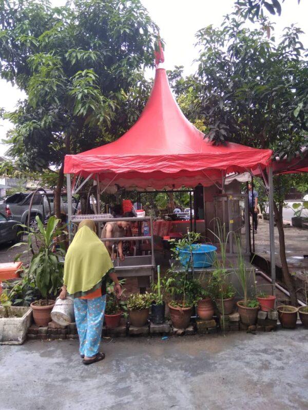 Red Arabian Canopy