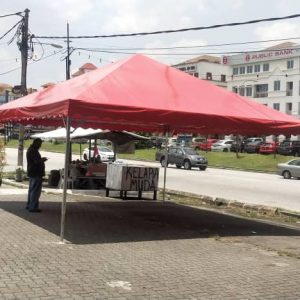 Red Pyramid Canopy