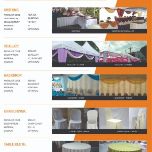 Canopy Accessories Flyers