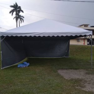 Pyramid Canopy with Plain Sidewall