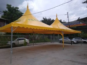 Yellow Arabian Canopy with Logo