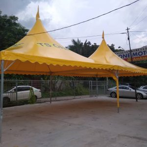 Yellow Arabian Canopy with Logo