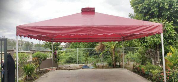 Pyramid Canopy Double Cone