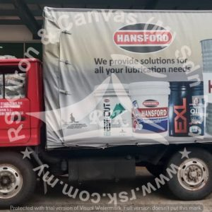 Lorry Canvas with Printing