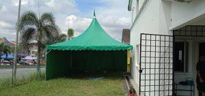 Green Arabian Canopy