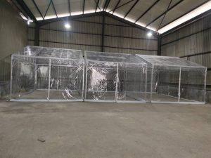 A-shape Transparent Canopy