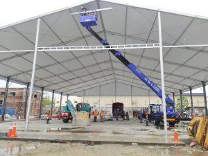 Marquee Tent 29m (7 block)