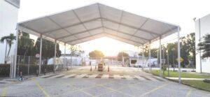 15m Marquee Tent (4 Block - 20m)