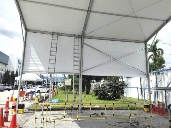 17m Marquee Tent (2 Block - 8m)
