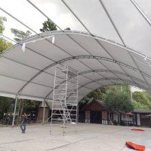 Halfmoon Marquee Tent cw Underlayer-3