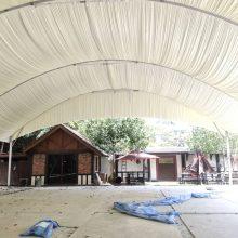 Halfmoon Marquee Tent cw Underlayer-7