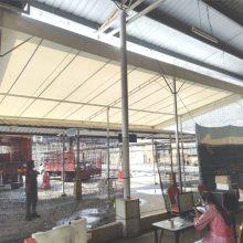 Oneside Canopy – Walkway for covid 19 swab test-06
