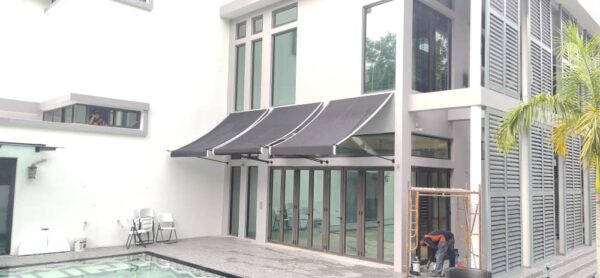 Spearhead Fabric Awning