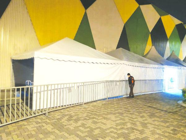 Pyramid Canopy in Stadium Bukit Jalil