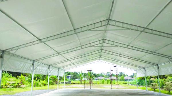 Custom-size A-shape Canopy