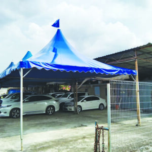 Arabian Canopy with Blue Canvas in Usedcar, Kajang