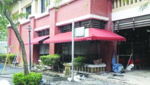Fabric Awning in Putrajaya