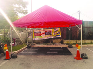 Pyramid Canopy cw Counter Weight